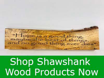 Shawshank Tree Products